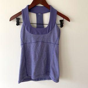 Purple Lululemon tank top